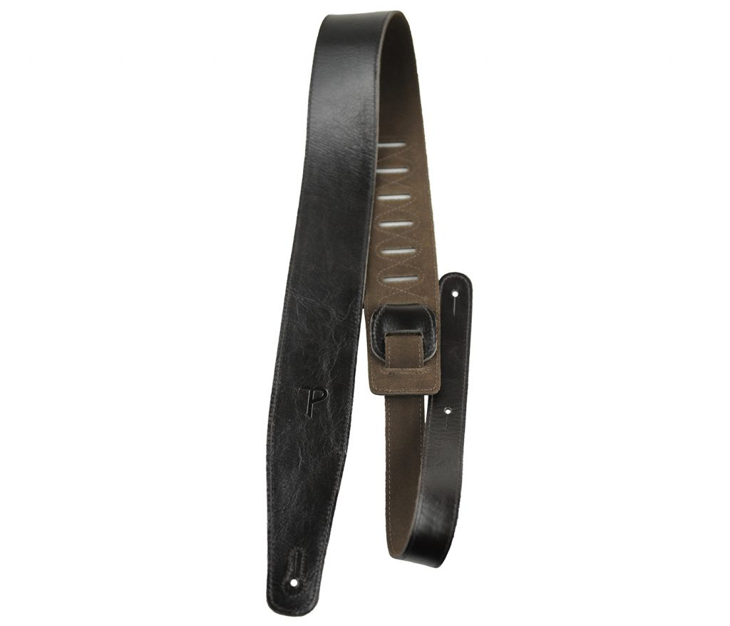 The Africa Collection Black Guitar Strap