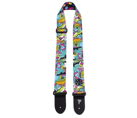 Official Licensing Maui And Sons Polyester Guitar Strap