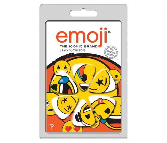 6 Pack emoji Official Licensing Variety Pack Guitar Picks