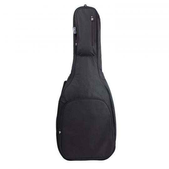 Acoustic Guitar Gig Bag with Side Carrying Handle, Back Side Shoulder Straps and Two Front Pockets